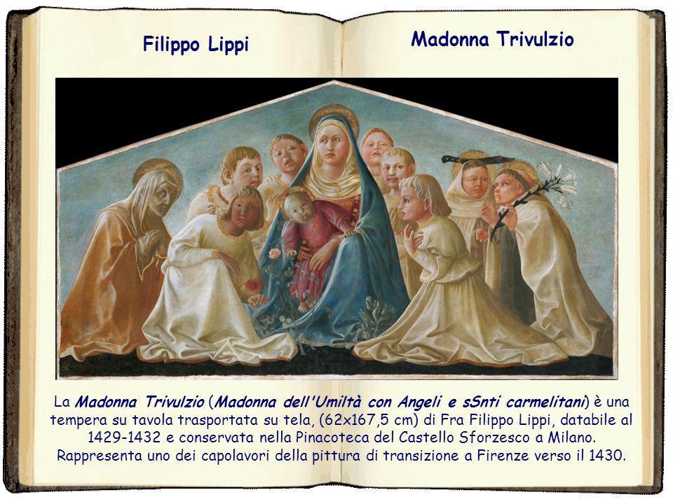 Madonna Trivulzio Filippo Lippi