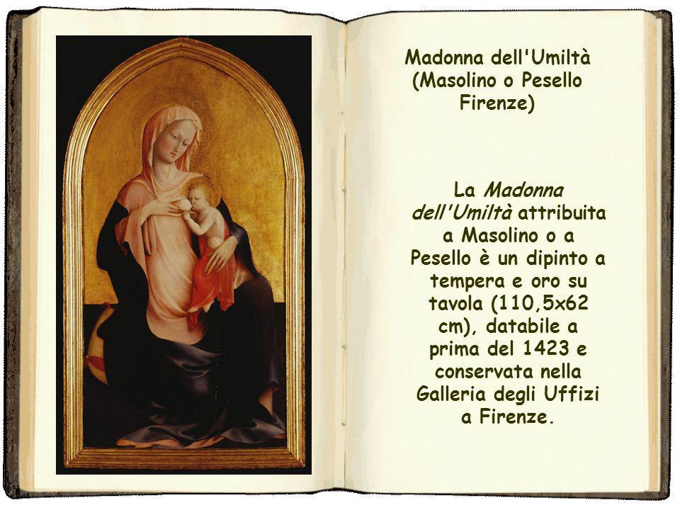 Madonna dell Umiltà (Masolino o Pesello Firenze)