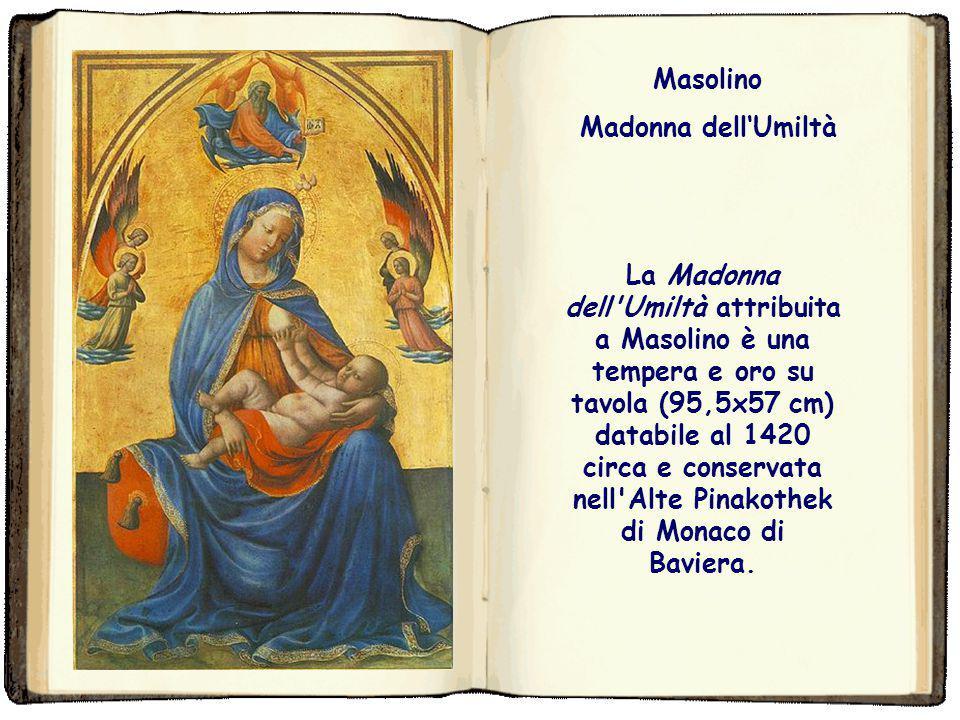 Masolino Madonna dell'Umiltà.