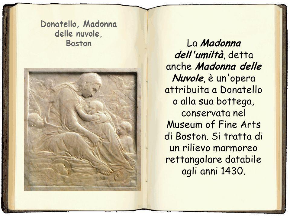 Donatello, Madonna delle nuvole,