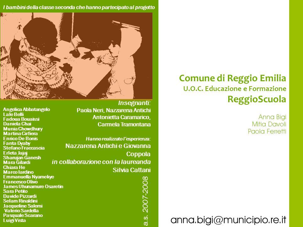 Comune di Reggio Emilia ReggioScuola
