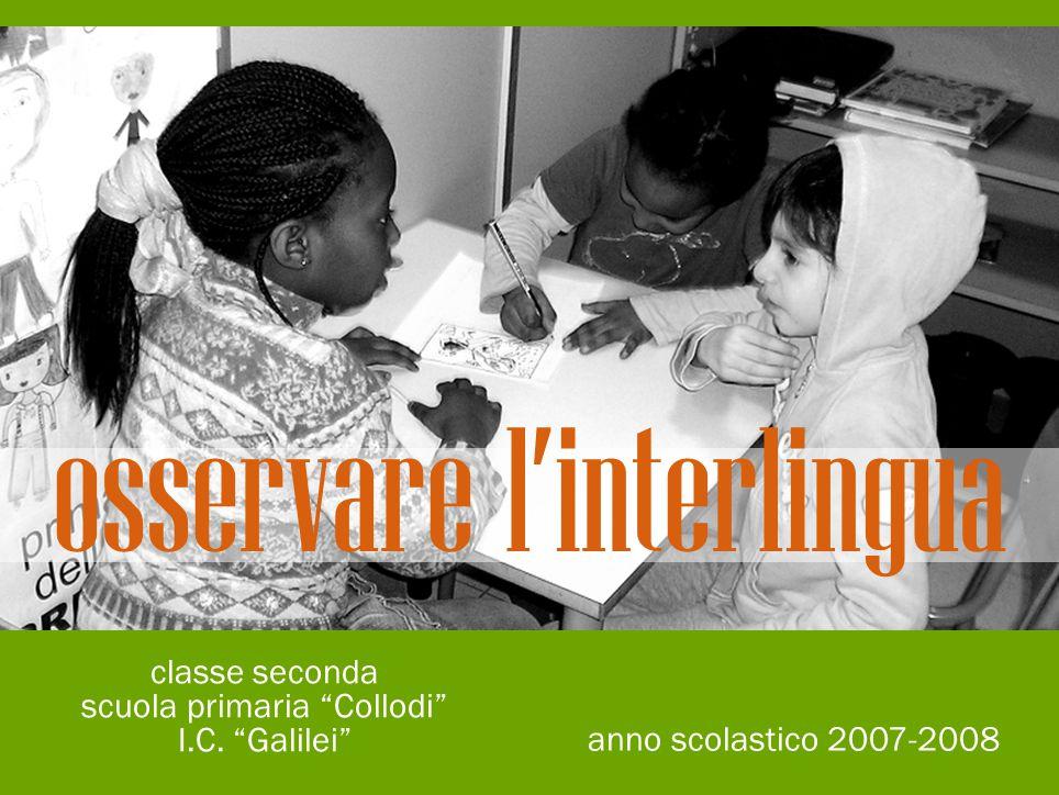 osservare l'interlingua