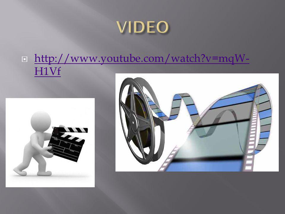 VIDEO http://www.youtube.com/watch v=mqW-H1Vf