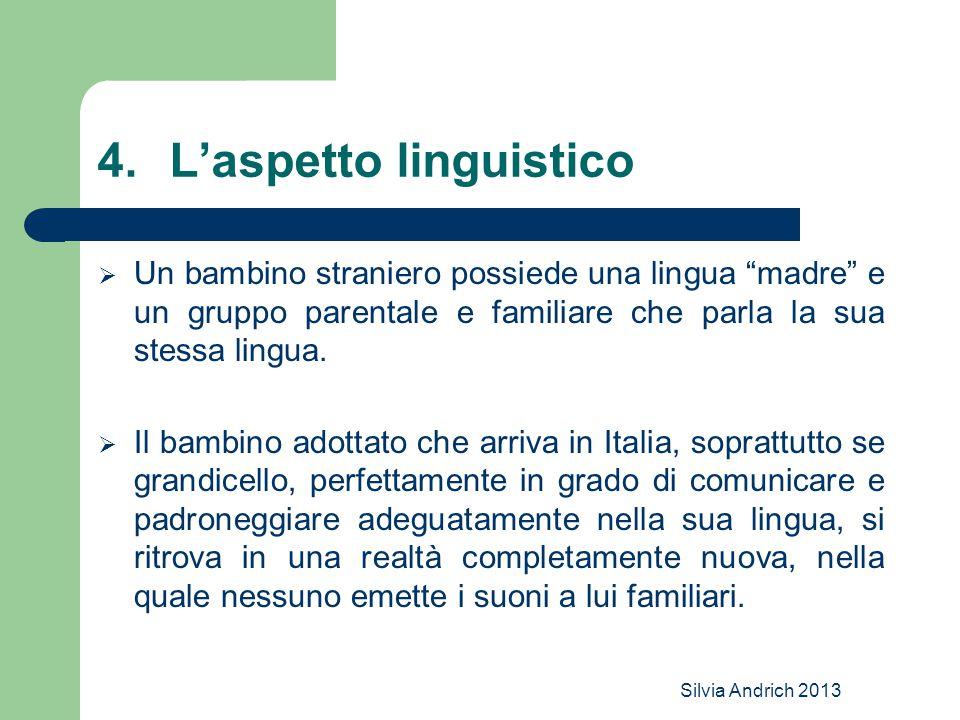 L'aspetto linguistico