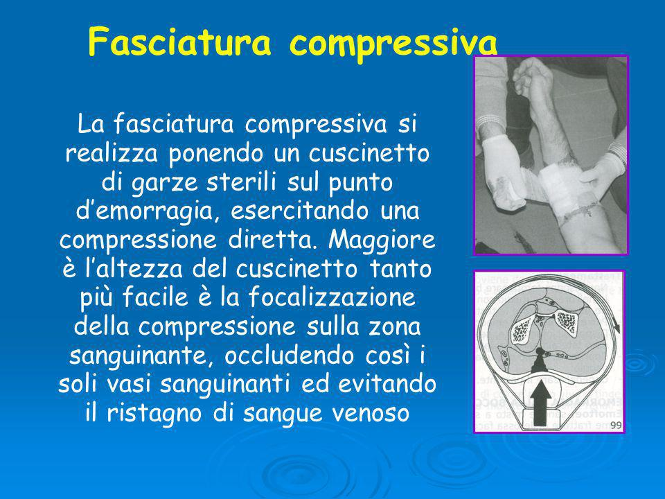 Fasciatura compressiva