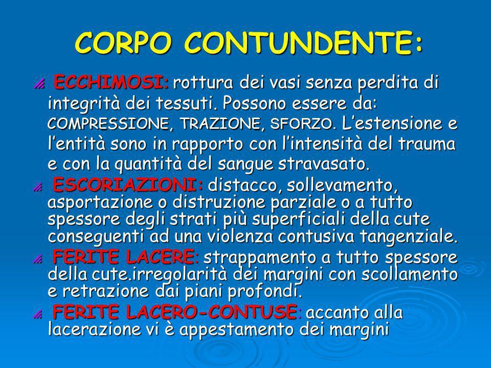 CORPO CONTUNDENTE:
