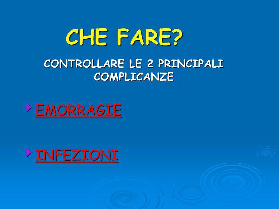 CONTROLLARE LE 2 PRINCIPALI COMPLICANZE