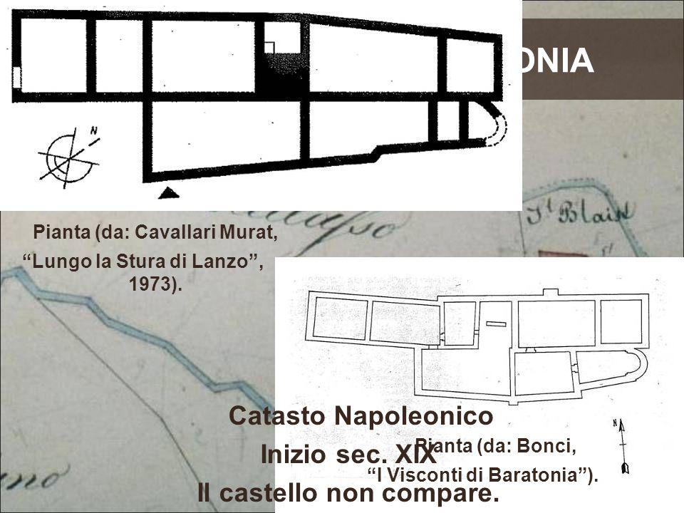 di IL CASTELLO BARATONIA Pianta (da: Cavallari Murat,