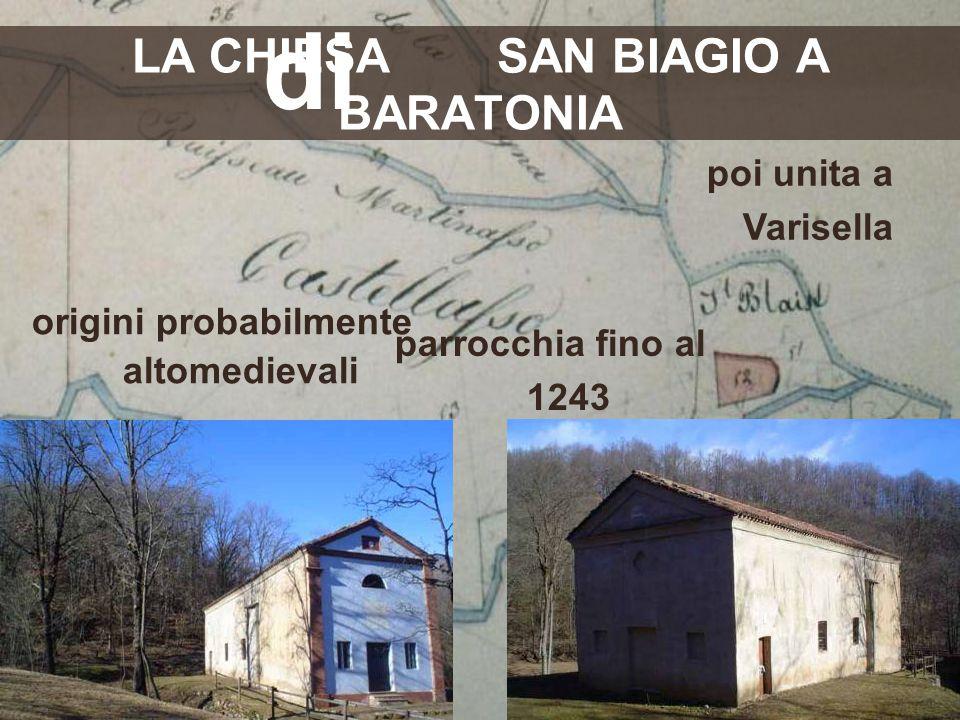 LA CHIESA SAN BIAGIO A BARATONIA