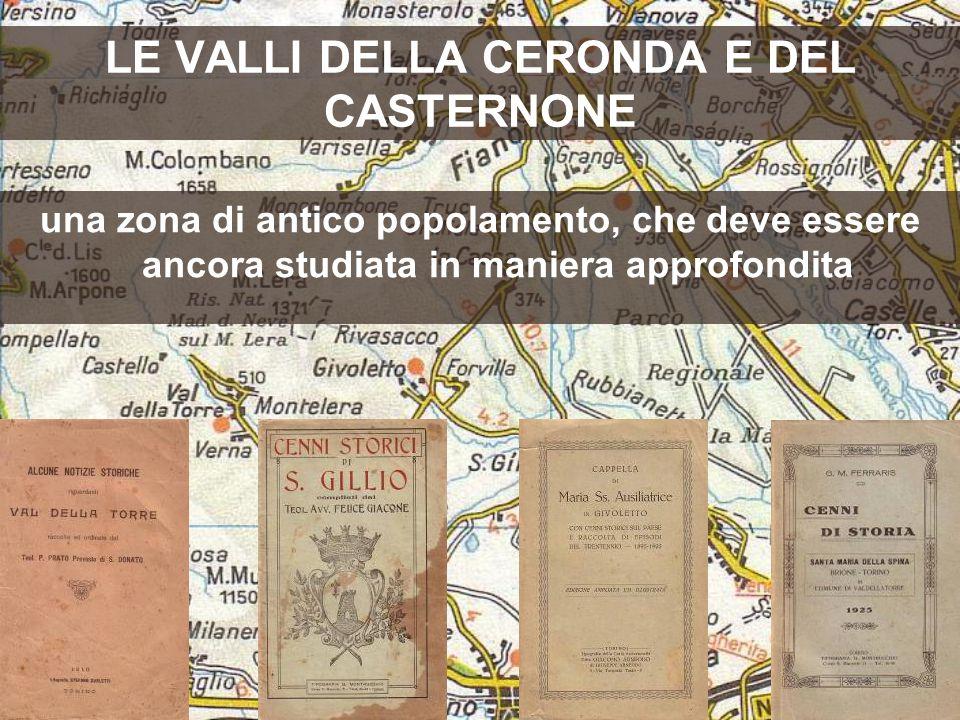 LE VALLI DELLA CERONDA E DEL CASTERNONE