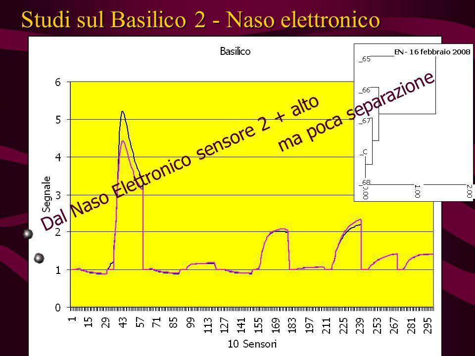 Studi sul Basilico 2 - Naso elettronico