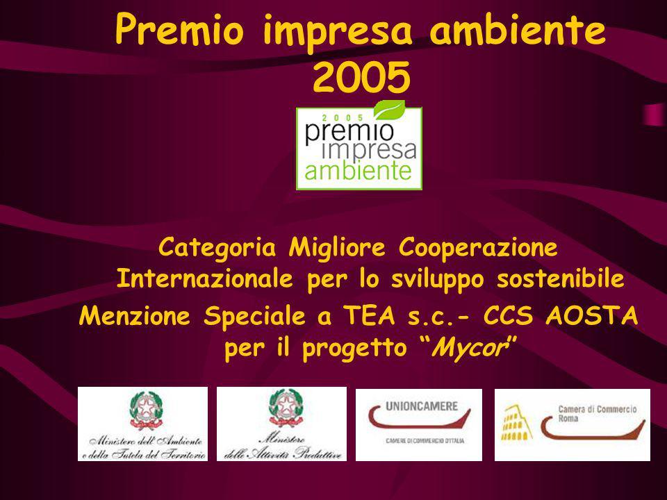 Premio impresa ambiente 2005