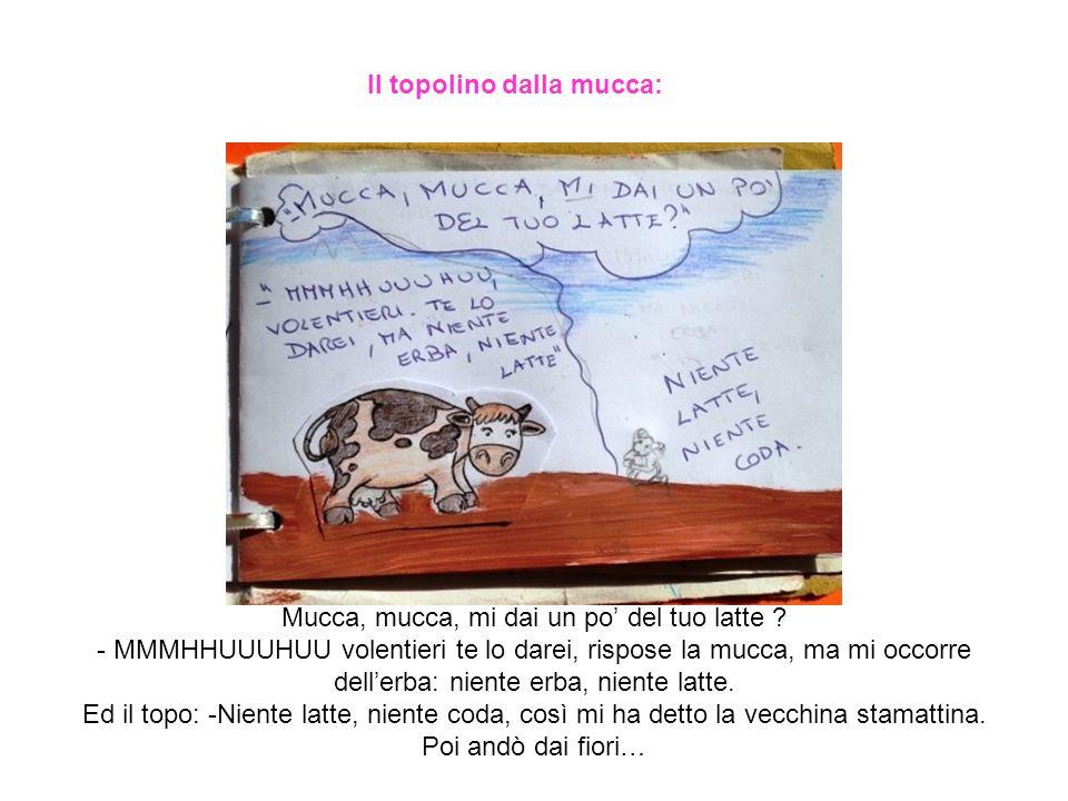 Il topolino dalla mucca: