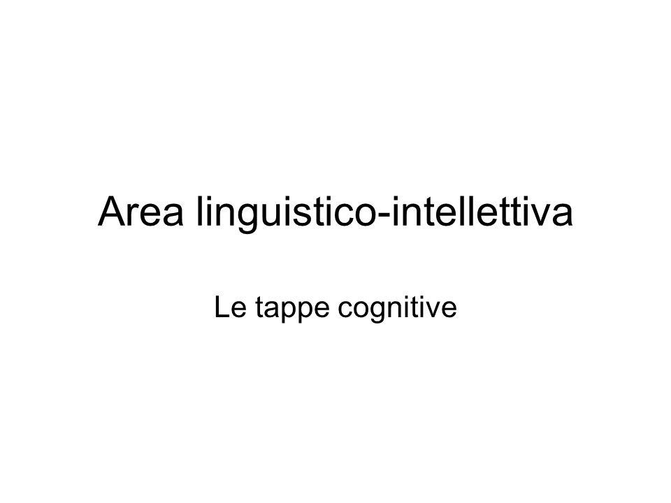 Area linguistico-intellettiva