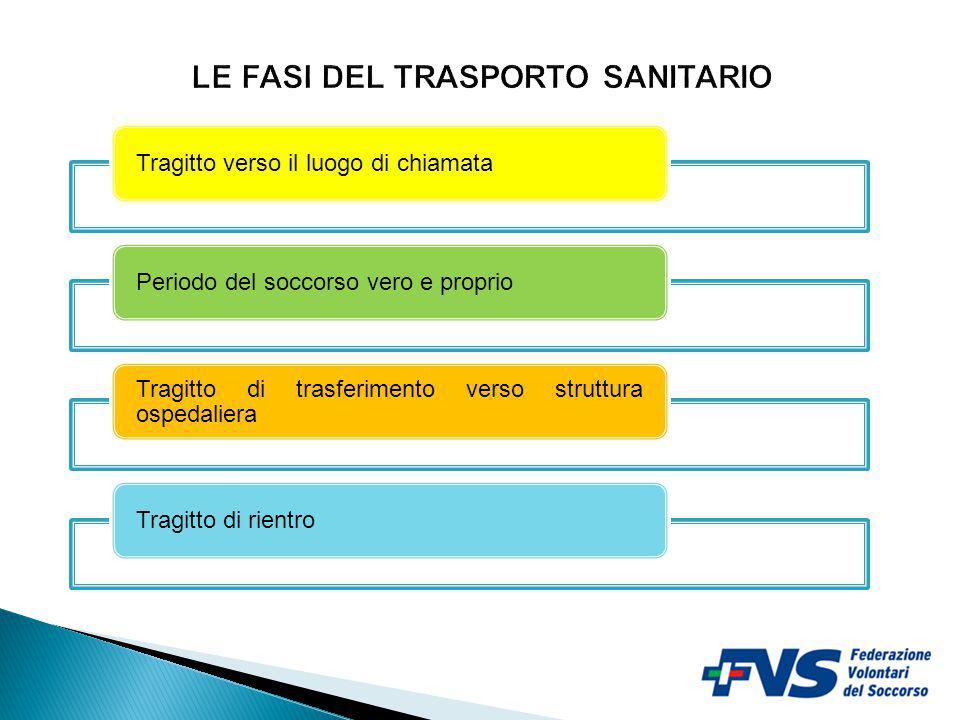 LE FASI DEL TRASPORTO SANITARIO
