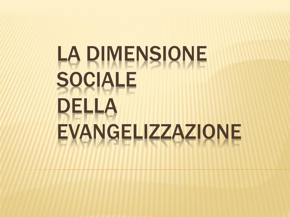 la dimensione sociale DELLA