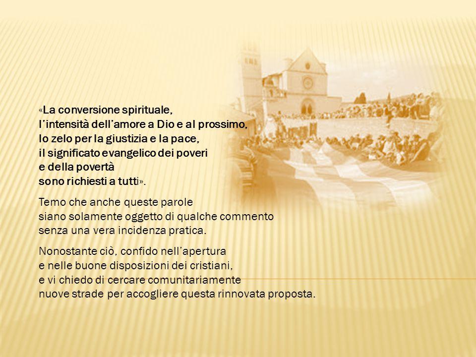 «La conversione spirituale,