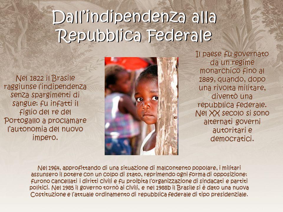 Dall'indipendenza alla Repubblica Federale