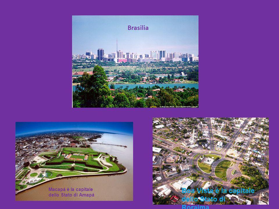 Boa Vista è la capitale dello Stato di Roraima.