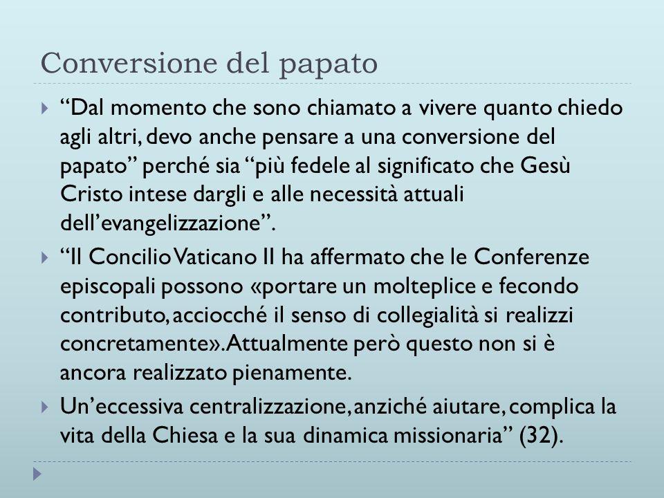 Conversione del papato