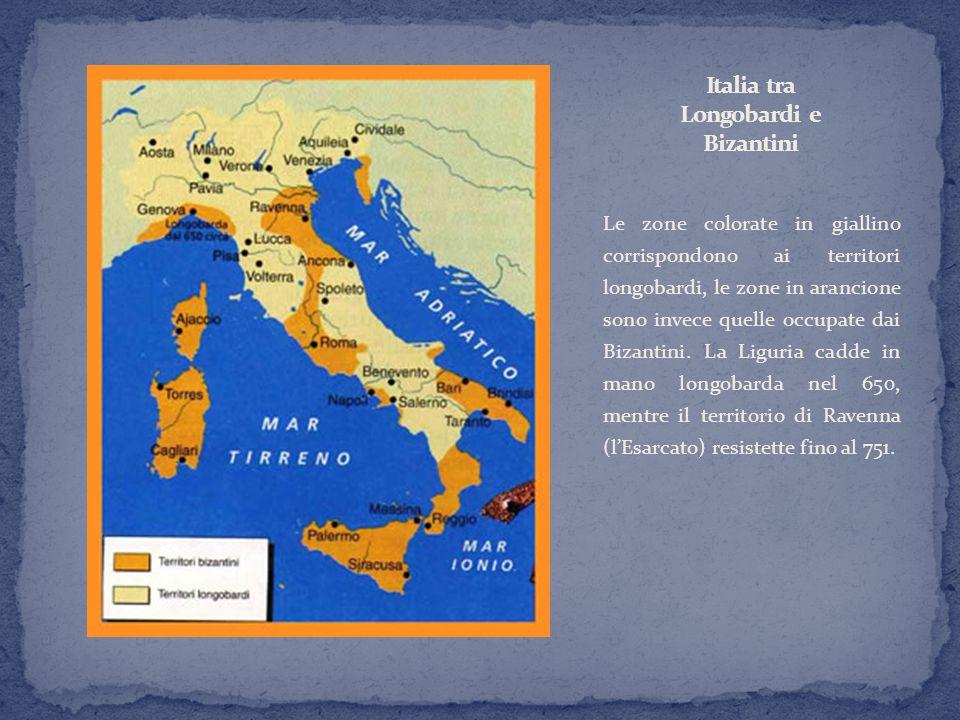 Italia tra Longobardi e Bizantini