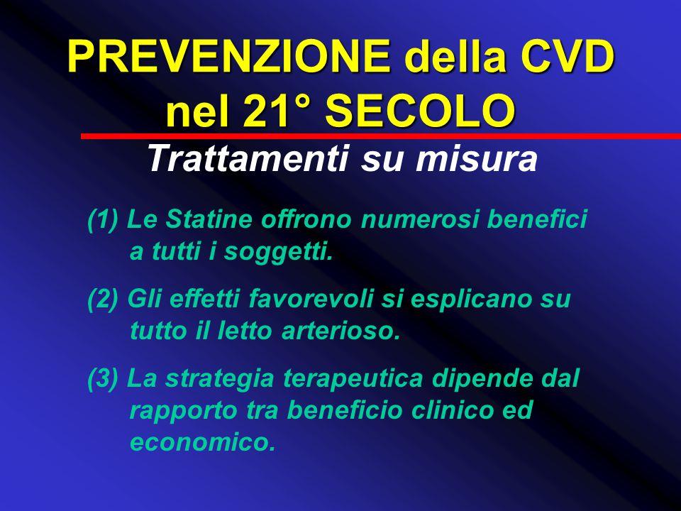 PREVENZIONE della CVD nel 21° SECOLO