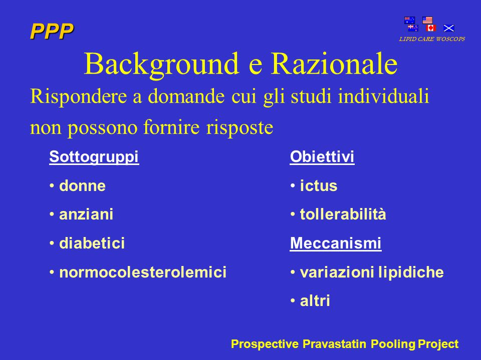 Background e Razionale