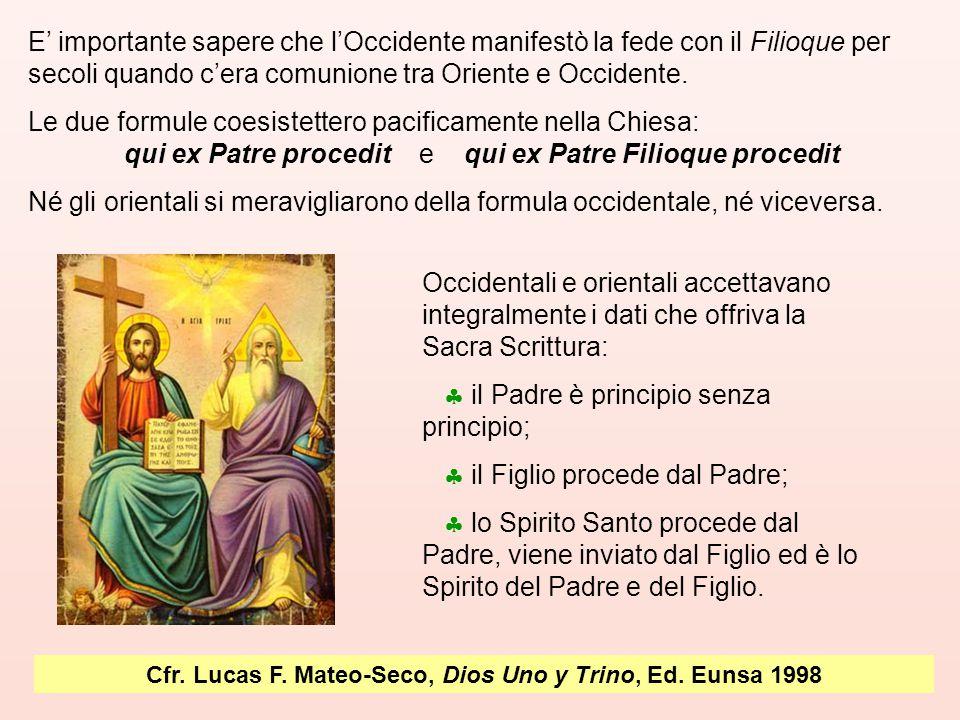 Cfr. Lucas F. Mateo-Seco, Dios Uno y Trino, Ed. Eunsa 1998