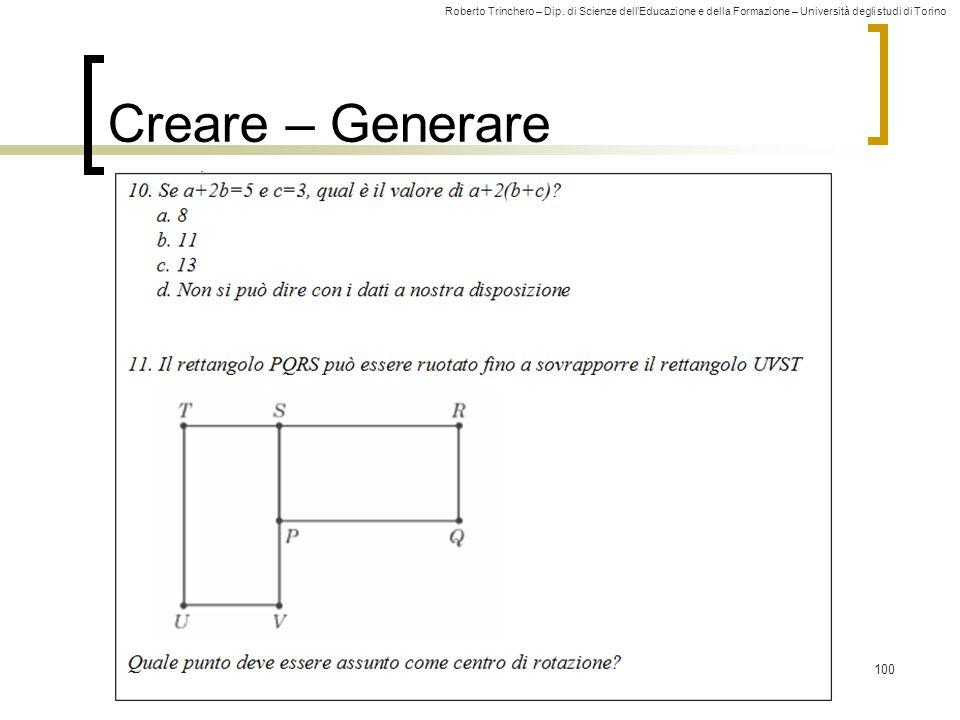 Creare – Generare