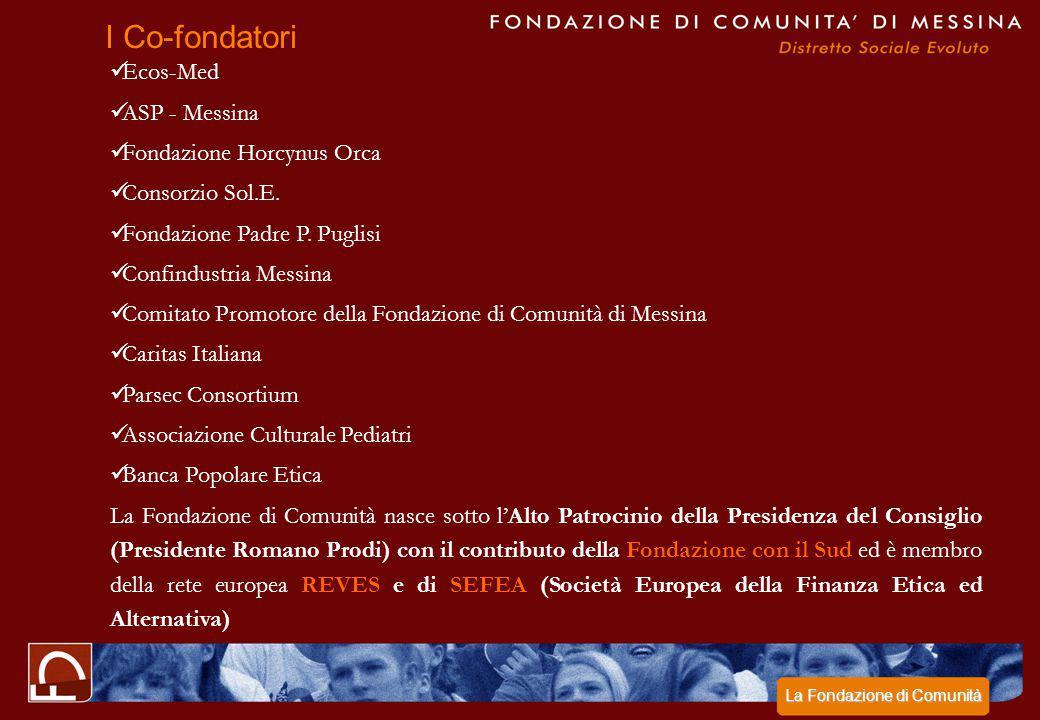 I Co-fondatori Ecos-Med ASP - Messina Fondazione Horcynus Orca