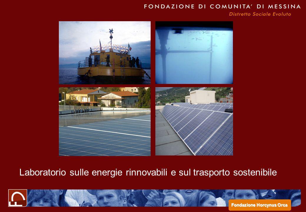 Laboratorio sulle energie rinnovabili e sul trasporto sostenibile