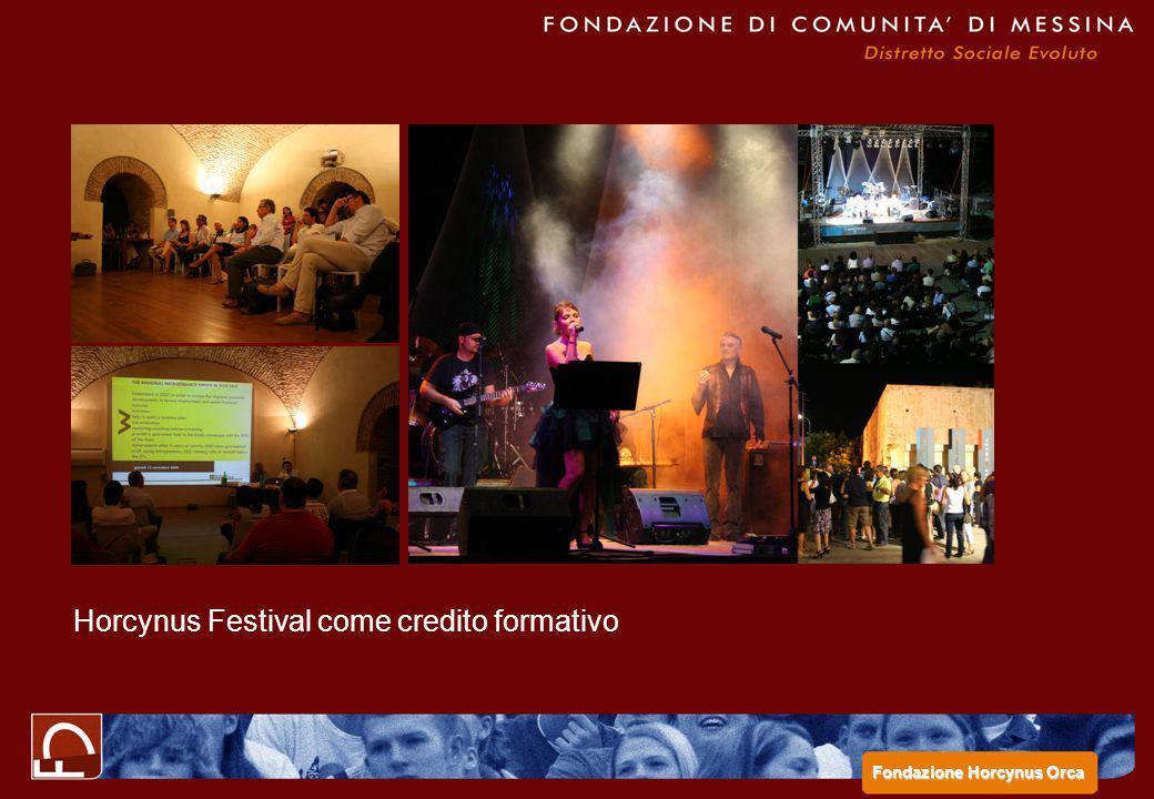 Horcynus Festival come credito formativo