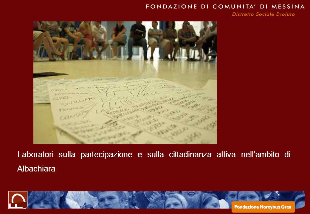 Laboratori sulla partecipazione e sulla cittadinanza attiva nell'ambito di Albachiara