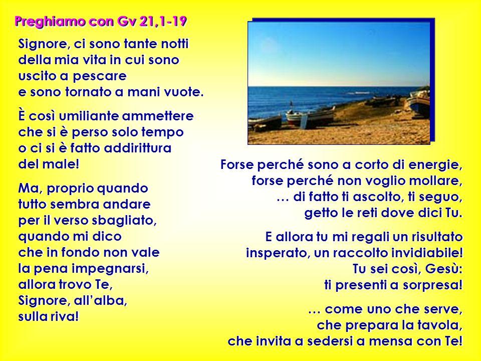 Preghiamo con Gv 21,1-19