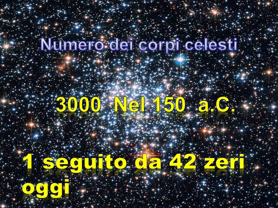 Numero dei corpi celesti