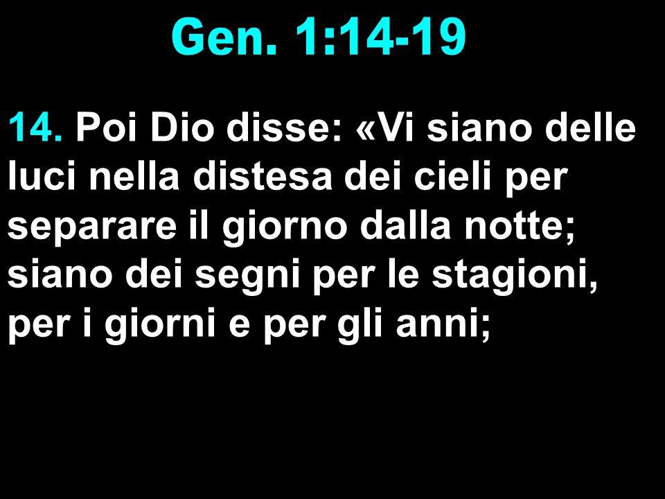 Gen. 1:14-19