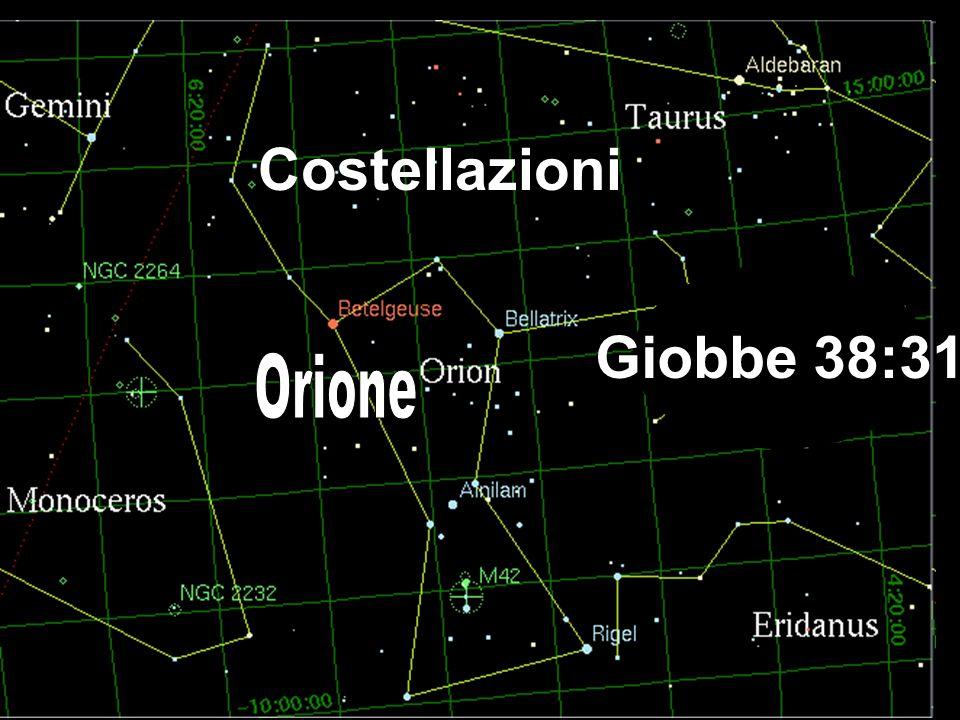 Costellazioni Giobbe 38:31 Orione