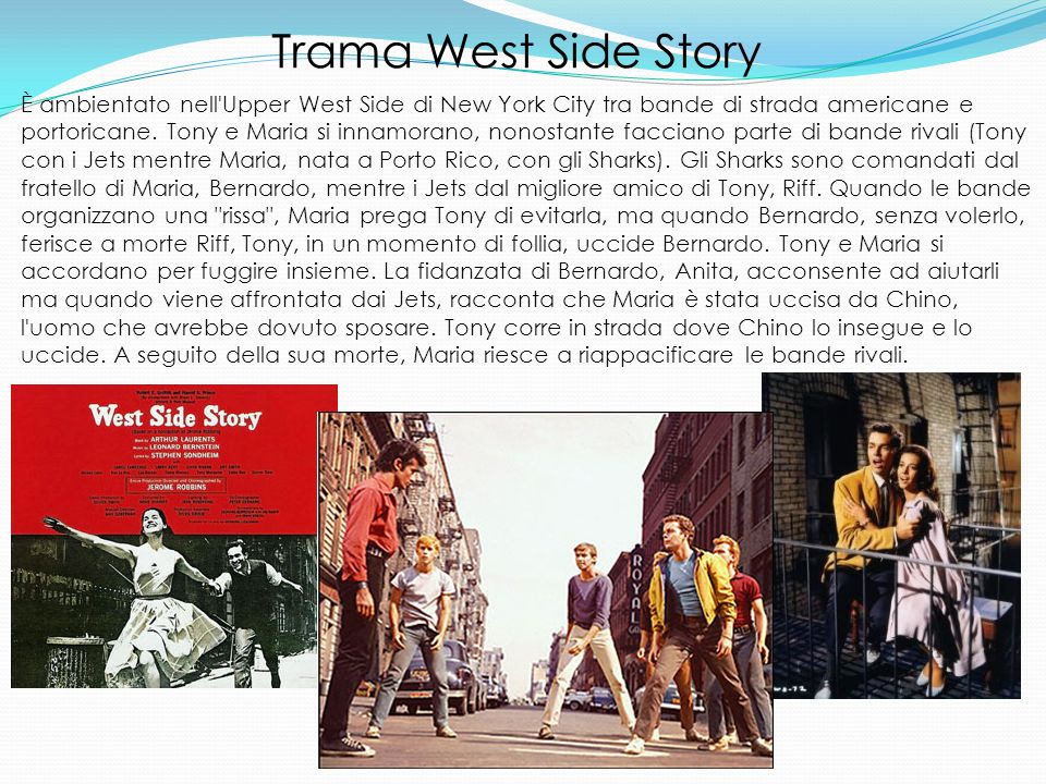 Trama West Side Story