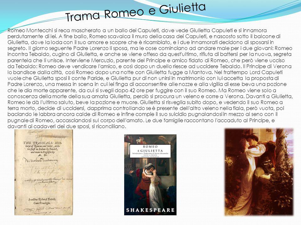 Trama Romeo e Giulietta