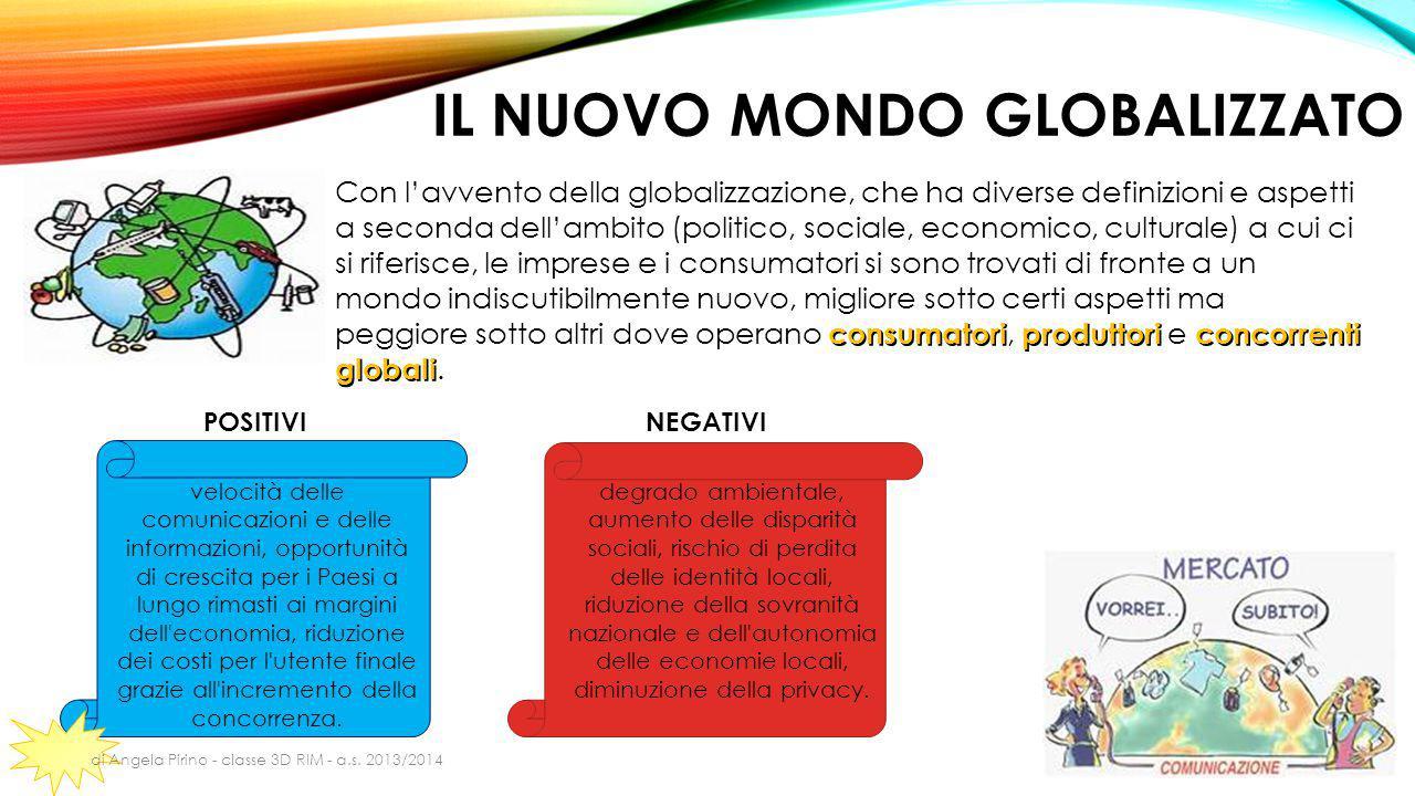 Il nuovo mondo globalizzato