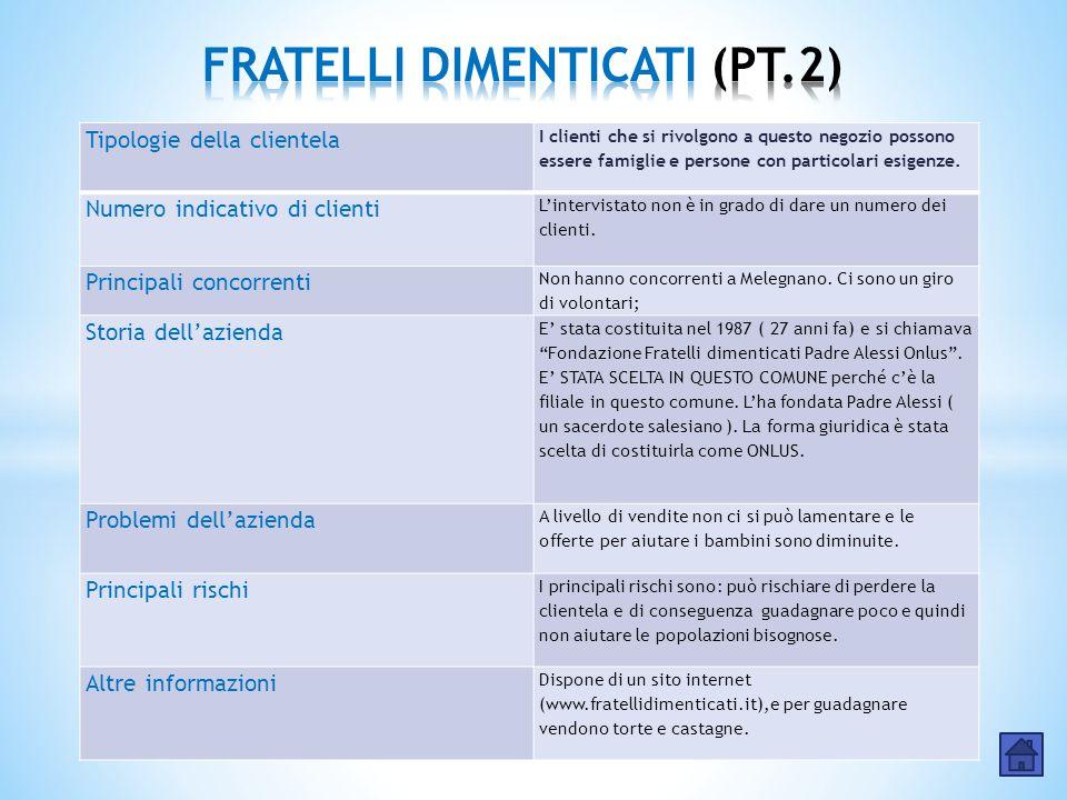 FRATELLI DIMENTICATI (PT.2)