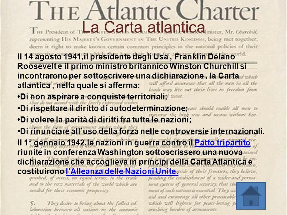La Carta atlantica