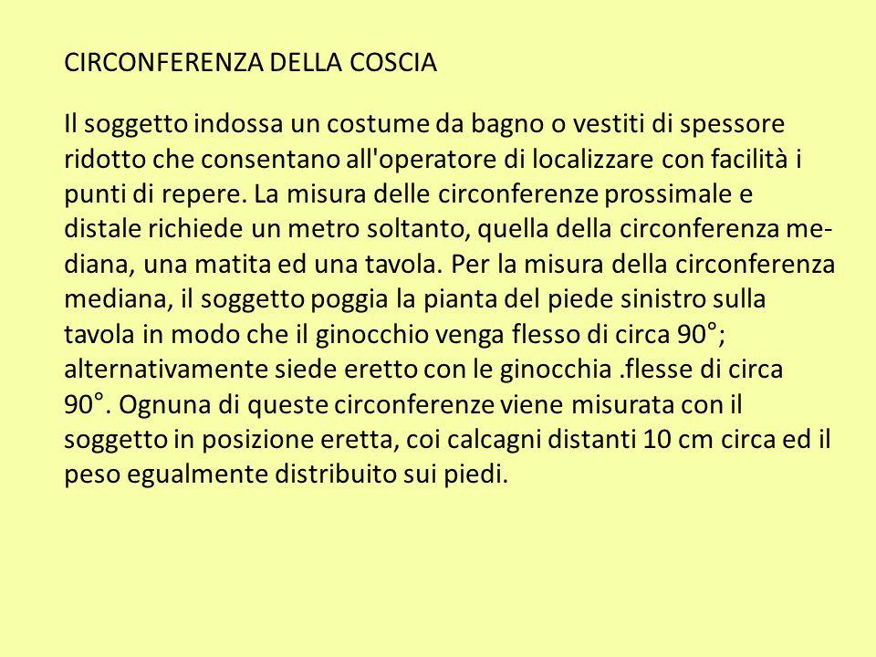 CIRCONFERENZA DELLA COSCIA