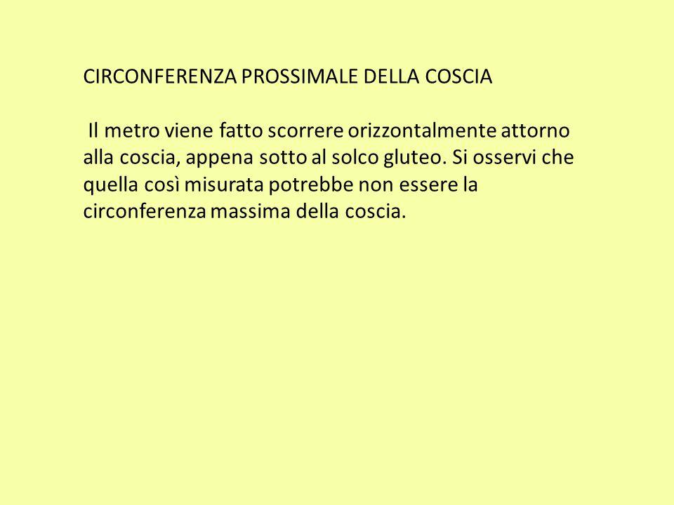 CIRCONFERENZA PROSSIMALE DELLA COSCIA