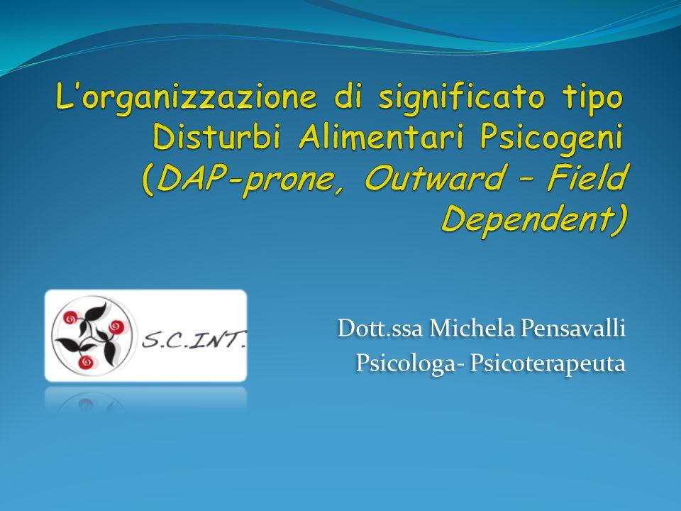 Dott.ssa Michela Pensavalli Psicologa- Psicoterapeuta