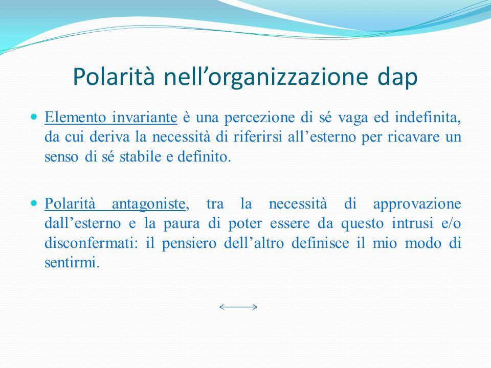Polarità nell'organizzazione dap
