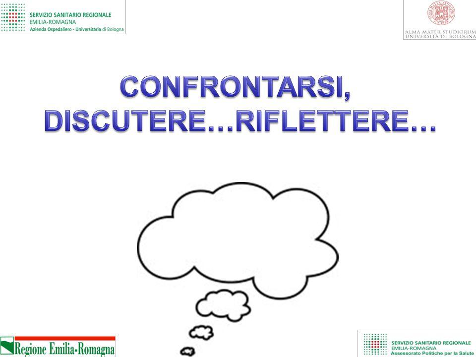 CONFRONTARSI, DISCUTERE…RIFLETTERE…