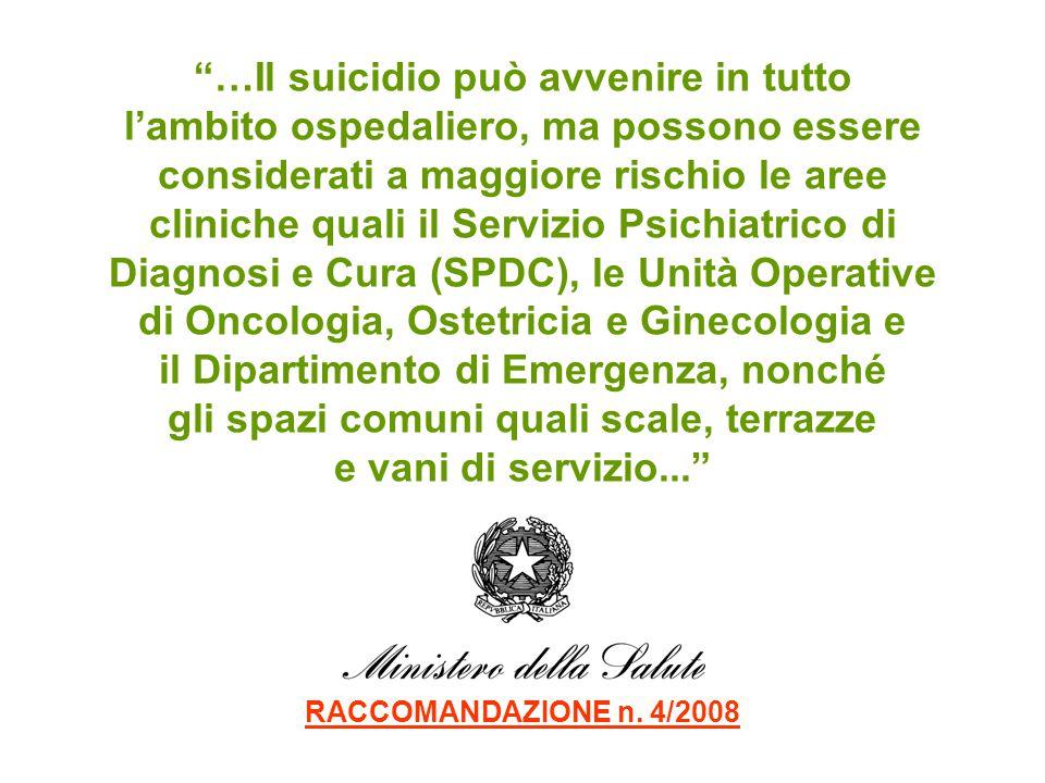 …Il suicidio può avvenire in tutto