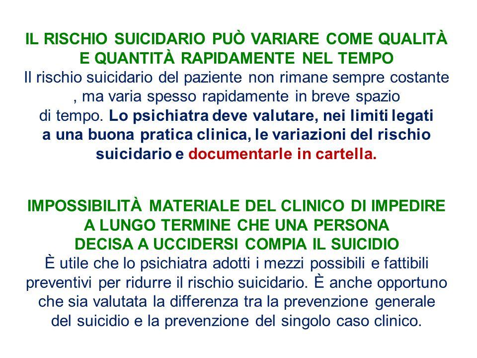 DECISA A UCCIDERSI COMPIA IL SUICIDIO