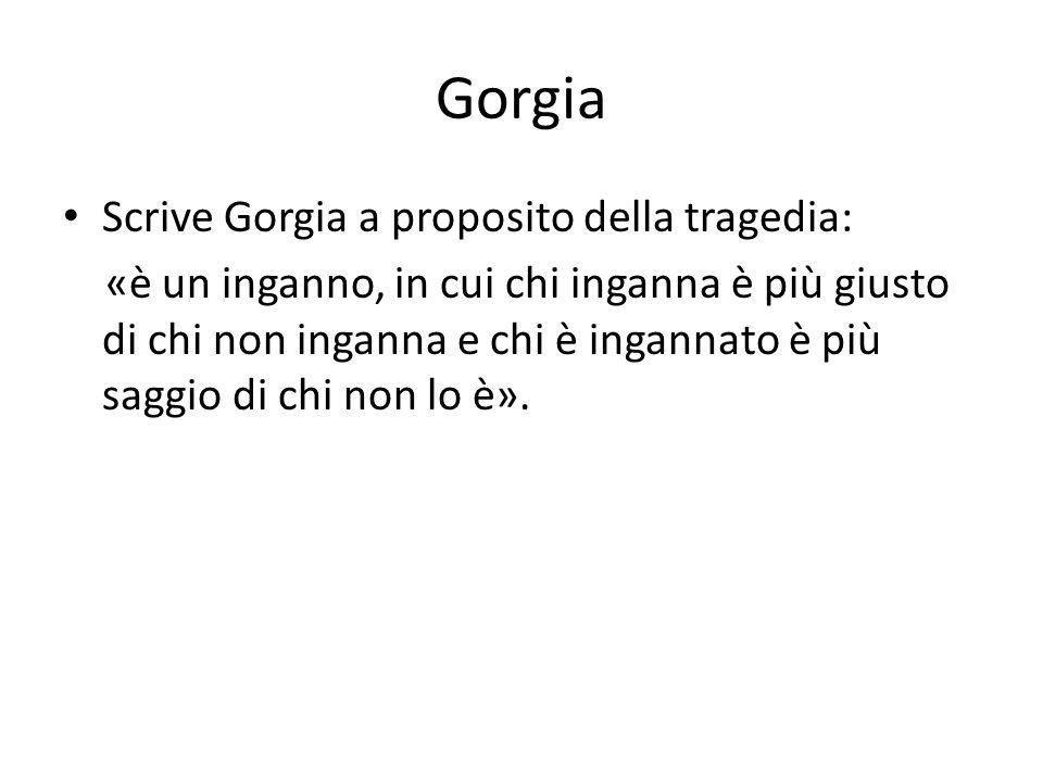 Gorgia Scrive Gorgia a proposito della tragedia: